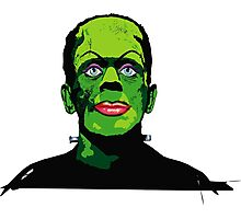 FRANKENSTEIN GOT A MAKE-OVER Photographic Print