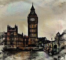 Westminster Bridge by AngelEowyn