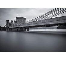 Conwy Suspension Bridge Photographic Print