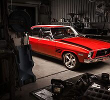 Chris Reece's Holden HQ SS by HoskingInd