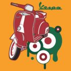 Vespa by Con Kennedy