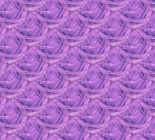 Seamless Purple Rose Vector by taiche