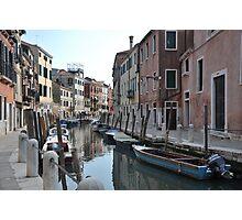 Canal in Dorsoduro, Venice Photographic Print