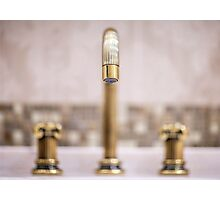 faucet in classic style Photographic Print