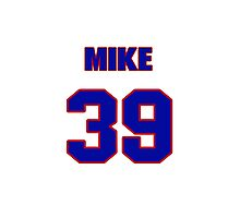 National baseball player Mike Fetters jersey 39 Photographic Print