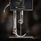 """ Old Sewing Machine "" ... #05 of 5 by Malcolm Heberle"