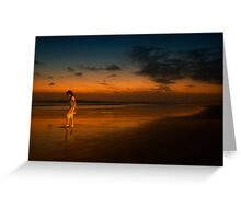 sunset beauty Greeting Card
