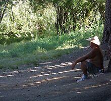 Meditating Madman by Snoboardnlife