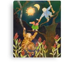 The Sun & Moon: Korean Folk Tale Canvas Print