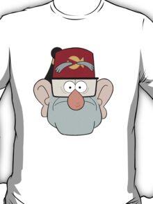 Stan Pines Paper Fez Face Mask T-Shirt