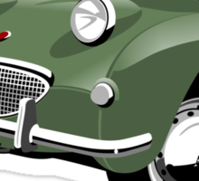 Austin Healey Sprite green Sticker