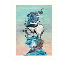 Seeking New Heights Art Print