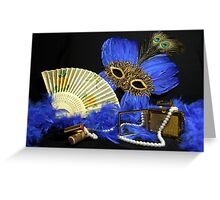 Lets Dress Up Tonight Greeting Card