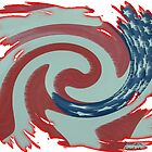 Old Glory Swirl by Southerngurl