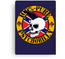 Pure Psychobilly - Flag Canvas Print