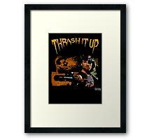Thrash Snake Framed Print