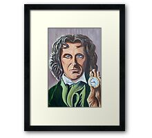 Paul McGann as Doctor Eight Framed Print