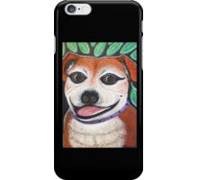 Gracie May Staffy under the lime tree iPhone Case/Skin