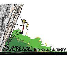 Increase Physical Activity - Rock Climbing by kjadesign