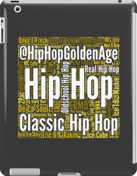 Real Hip Hop Word Cloud Art by HHGA