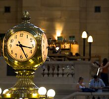 Grand Central Clock by Louis Galli