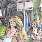 Florida Girl Scouts Bridging by Wendy Crouch