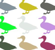Ducks On Acid Sticker
