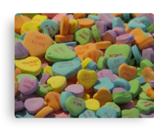 Heart Candy  Canvas Print