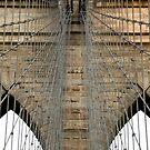 Brooklyn Bridge Abstract by Louis Galli