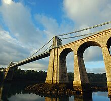 Menai Bridge by wesleyj1954
