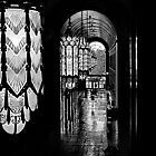 Fisher Building BW by Unspoken