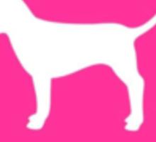 PINK Dog  Sticker
