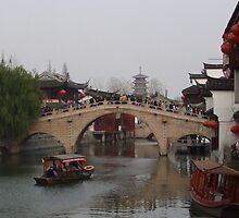Shanghai canal by Patrick Czaplewski