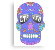 ZTA Sugar Skull Canvas Print
