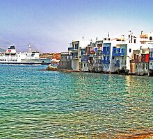 Little Venice - Mykonos, Greece by Memaa