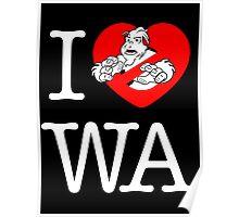 I PNW:GB WA (black) v2 Poster