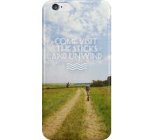 Come Visit The Sticks iPhone Case/Skin