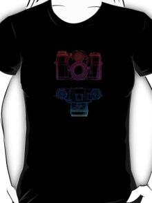 Vintage Photography - Contarex (Multi-colour) T-Shirt