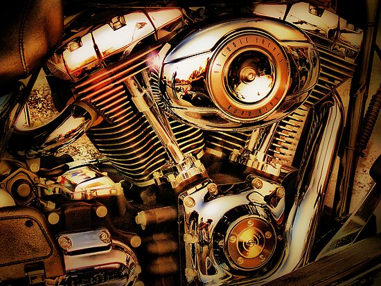 Harley Davidson Engine by A90Six