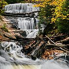 Sable Falls Cascade by Kenneth Keifer