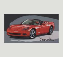 Red Corvette by Ryan Houston