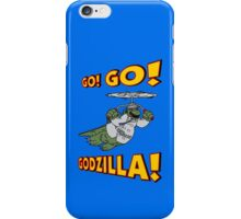 Go Go Godzilla! iPhone Case/Skin