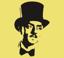 William Powell In Bowtie And Top Hat Kids Clothes