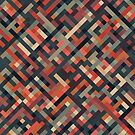 Bold Geometric Print by Mike Taylor