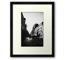 Early morning in Glasgow, Scotland Framed Print