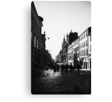 Early morning in Glasgow, Scotland Canvas Print