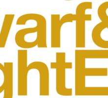 Vanilla Races : Alliance (Faction Spirit) - WoW goes Helvetica Sticker