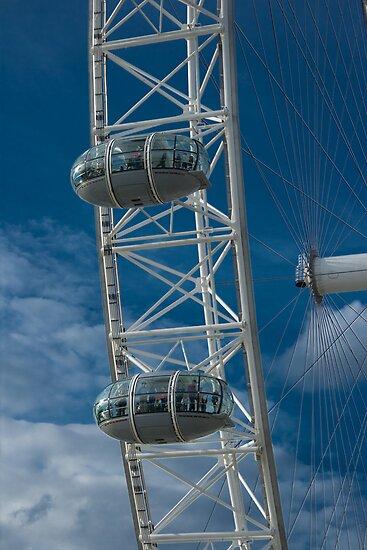 London Eye capsules by Anders Hollenbo