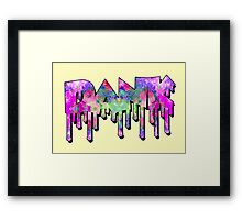 Dank - Galaxy Framed Print