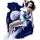 Monday's Child - Classic Pin Up Girl by simonbreeze